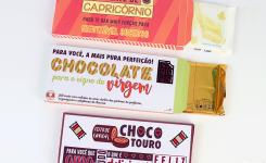 Páscoa: Rótulos para chocolate dos signos (elemento terra)