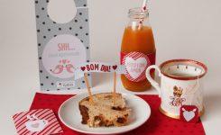 Kit Digital para Café da Manhã de Dia dos Namorados