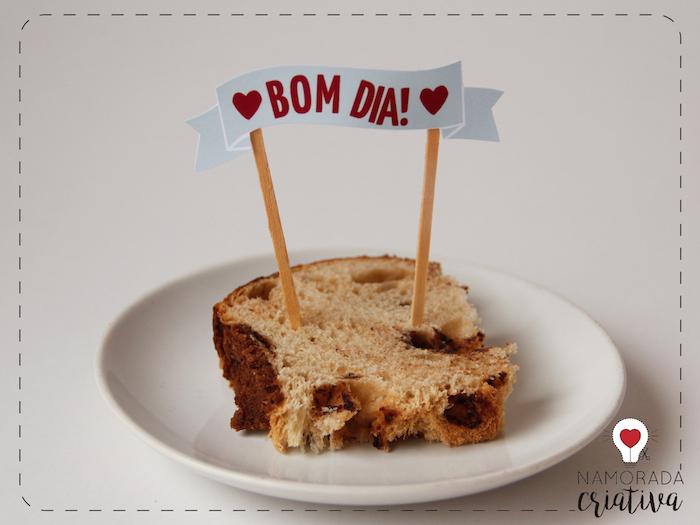 Famosos Kit Digital para Café da Manhã de Dia dos Namorados | Namorada  TX96