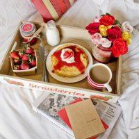 Inspirações para surpresa com café da manhã no Dia dos Namorados