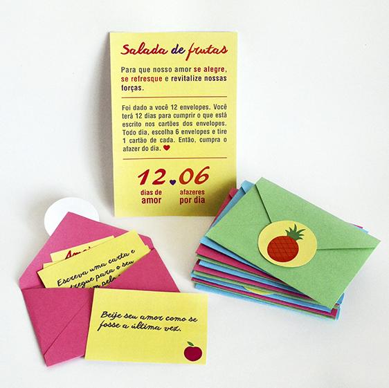 DIY: Salada de Frutas – Brincadeira para o Dia dos Namorados