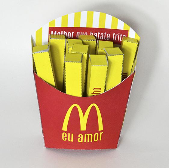DIY: Cartão 3D – Fritas do Amor
