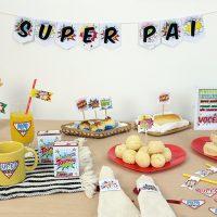 DIY: Kit para decorar Café da Manhã do Dia dos Pais