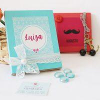 DIY: Convite e manual para madrinha e padrinho de casamento