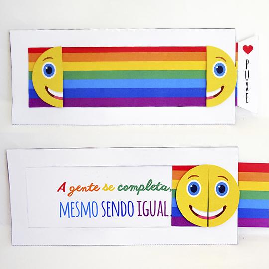 DIY: Cartão com mensagem surpresa para casais homoafetivos