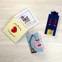 DIY: Três cartões para namorado engenheiro