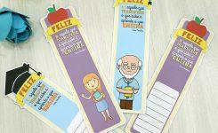Marca páginas para professores