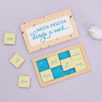 DIY Páscoa: Cartão com chocolate