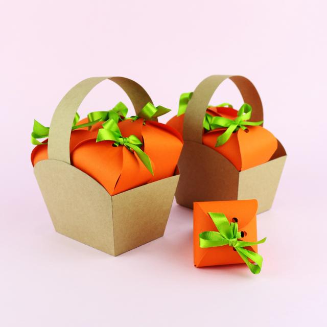 DIY Páscoa: Caixinhas de cenoura e cestinha para a Páscoa