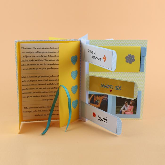 DIY: Álbum Scrapbook baratinho