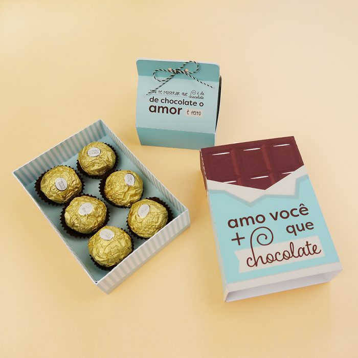 DIY: Caixinhas para bombom (Bodas de Chocolate)
