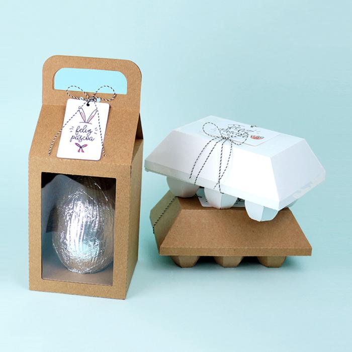 DIY: Caixas para Ovo de Páscoa