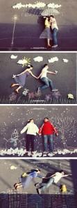 Ideias para fotos criativas de casal
