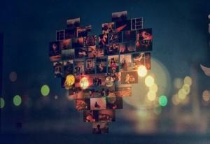 Mural de corações