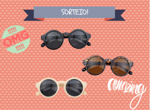 Sorteio! Óculos redondo vintage
