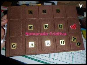 Páscoa Criativa – Álbum Barra de Chocolate Meu Garoto| Parte 1