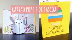 DIY: Cartão Pop Up de Páscoa