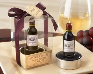 Lembrancinhas de Casamento - Mini Garrafa de Vinho