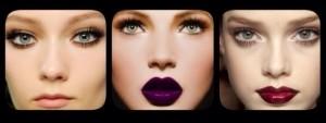 Tendências de Maquiagem Outono/Inverno 2014 (Parte I)