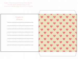 Capa para CD Love Songs