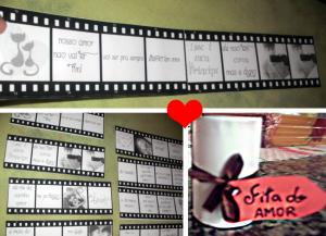Fita do amor – Cartinha para namorado que gosta de cinema