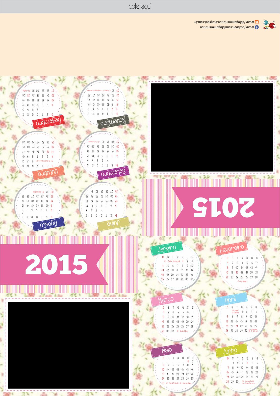 Calendário personalizado 01
