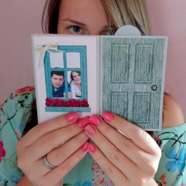 DIY: Cartãozinho – Quando o amor bateu em minha porta
