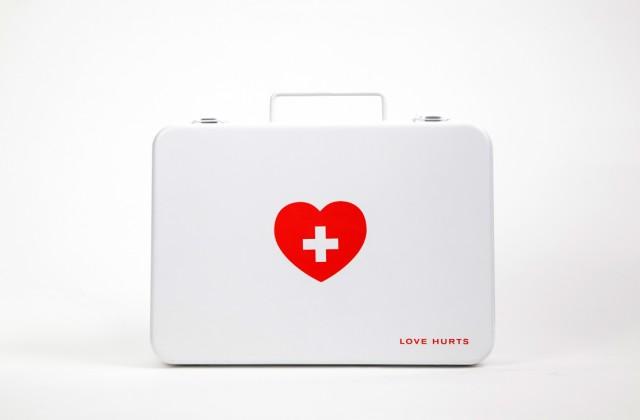 Kit de primeiros socorros – Para namorado que vai viajar sozinho