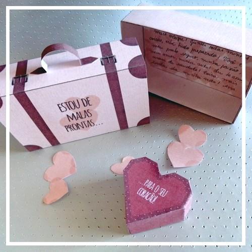 DIY Valentine's Day: Caixinha – De malas prontas