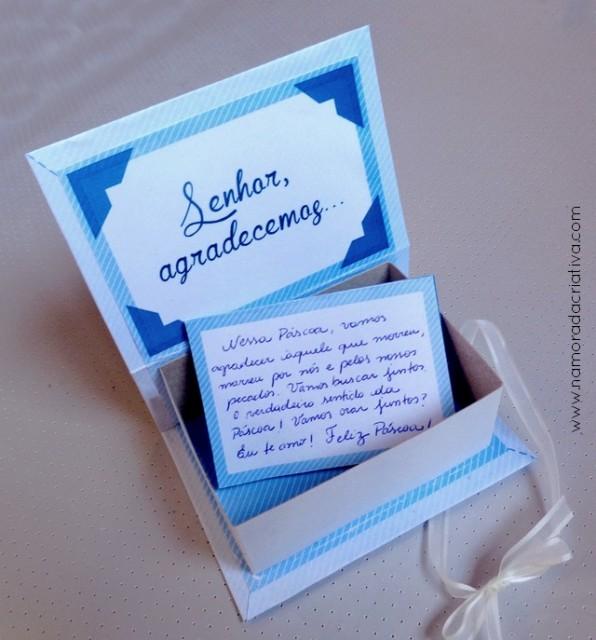 DIY Páscoa: Caixinha de Orações