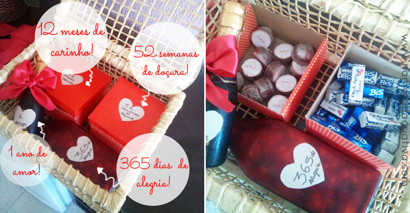 99886798089f51 Presente de aniversário de 1 ano de namoro   Namorada Criativa - Por ...