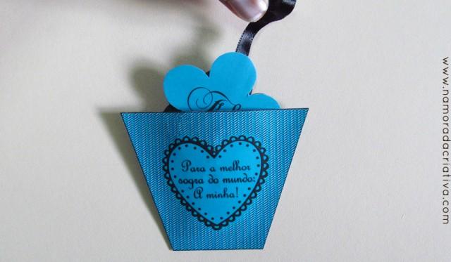 DIY: Cartão cascata de flores para sogra (e mãe)