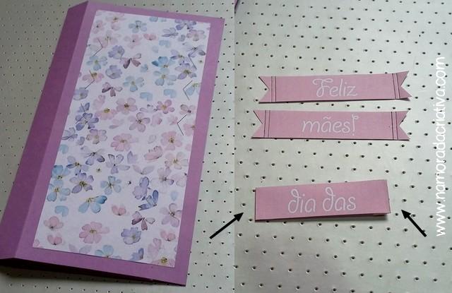 DIY Cartão dia das Mães - Blog Namorada Criativa - Passo10