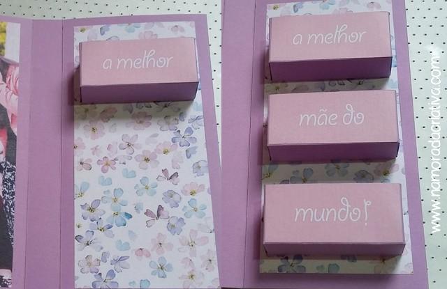 DIY Cartão dia das Mães - Blog Namorada Criativa - Passo21