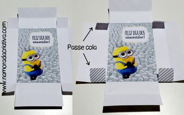 DIY Dia dos Namorados - Caixinha Minions - 11