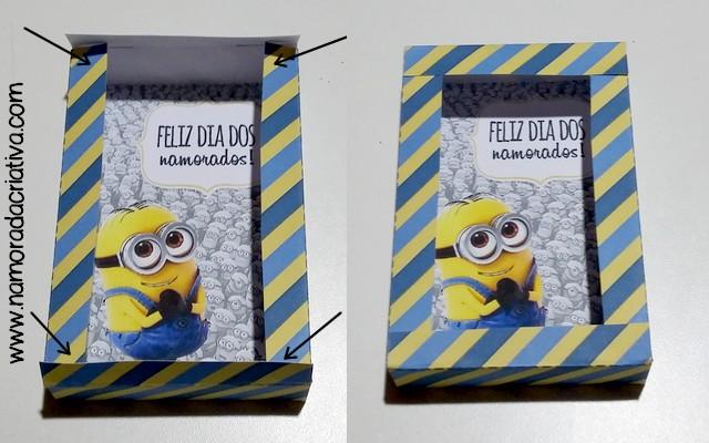 DIY Dia dos Namorados - Caixinha Minions - 13