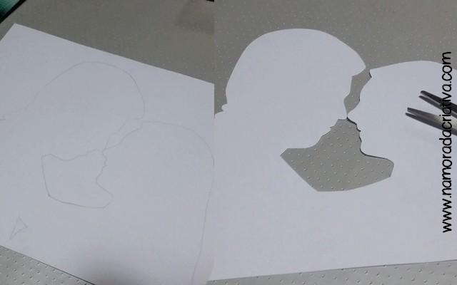 DIY Dia dos Namorados - Quadrinho - 05