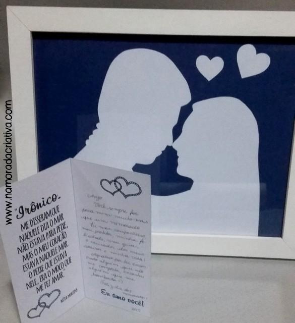DIY Dia dos Namorados - Quadrinho - A2