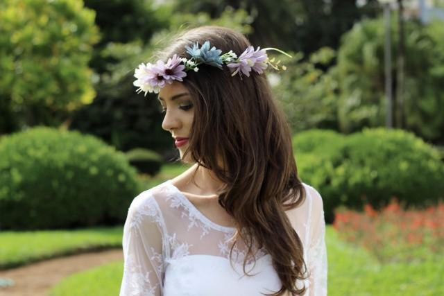 Sorteio de coroa de flores no mês das noivas