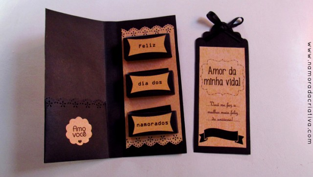 DIY: Cartão com bombons para o Dia dos Namorados