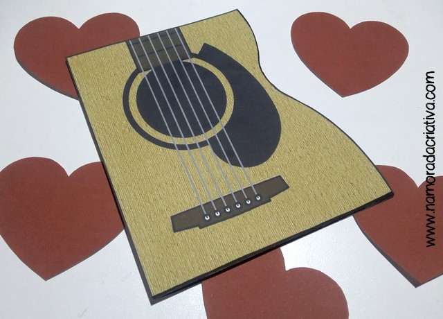 DIY Cartão você tocou meu coração - 05