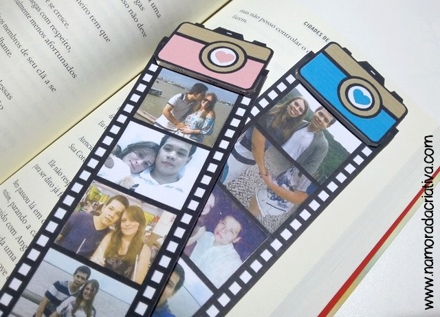 Marca páginas para o casal - Blog Namorada Criativa - 09