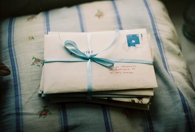 Carta para um ex futuro amor
