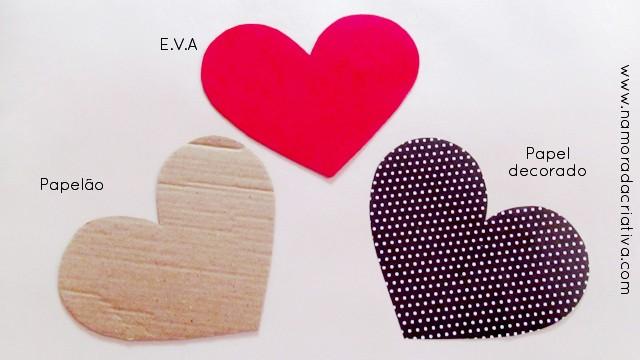 Cestinha de coração E.V.A_1