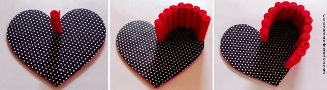 Cestinha de coração E.V.A_5