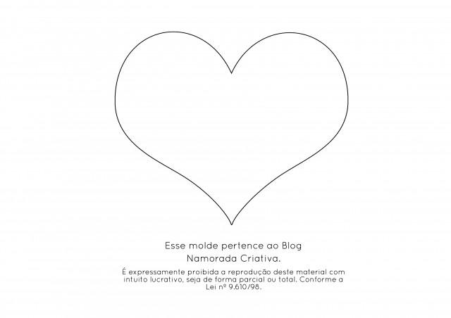 Cestinha de coração E.V.A_molde