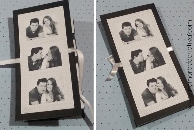 DIY - Cartão Amo Você - Namorada Criativa - 11