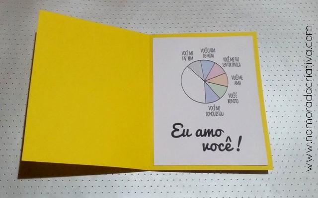 DIY - Cartão Divertido para os Amantes de Pizza - Namorada Criativa - 04