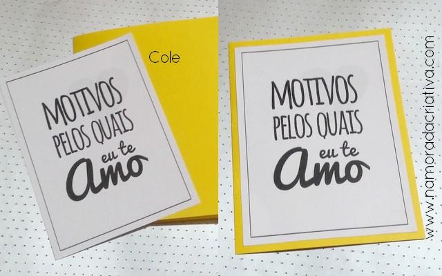 DIY - Cartão Divertido para os Amantes de Pizza - Namorada Criativa - 07