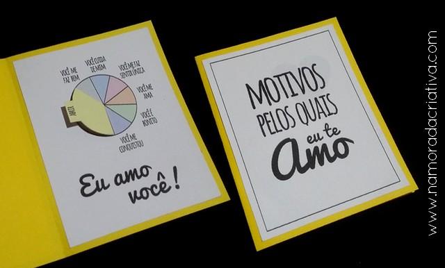 DIY - Cartão Divertido para os Amantes de Pizza - Namorada Criativa - 08